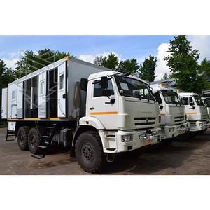 Модернизированные Аварийные ремонтно-сварочные мастерские на шасси а/м Камаз отправились в Приволжье