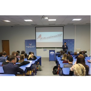 ОНФ рассказал студентам Петербургского экономического университета о проектах Народного фронта