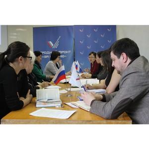 Активисты ОНФ в Туве обсудили проблемы здравоохранения региона