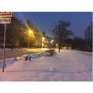После обращения активистов ОНФ отрегулирована работа наружного освещения около школ Иваново