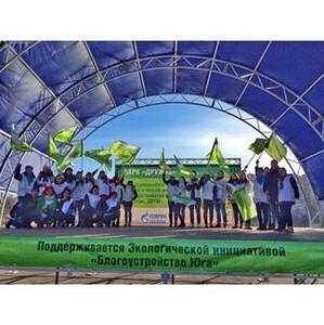 В ростовском парке «Дружба» установили фонари на солнечных батареях