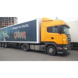 300 тонн декораций для Cirque du Soleil