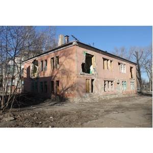 Воронежские активисты ОНФ добиваются сноса расселенных аварийных домов в Воронеже