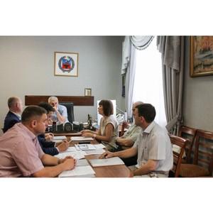 Представители ОНФ обсудили с руководством Алтайского края реализацию проектов Народного фронта
