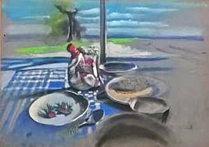 """Выставка """"Путешествие"""" польского художника Andrzej Siewierski и Натальи Беловой-Вебер (керамика)"""