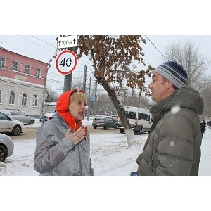 Активисты ОНФ в рамках «Недели качества» проверили пешеходные переходы вблизи школ Оренбурга