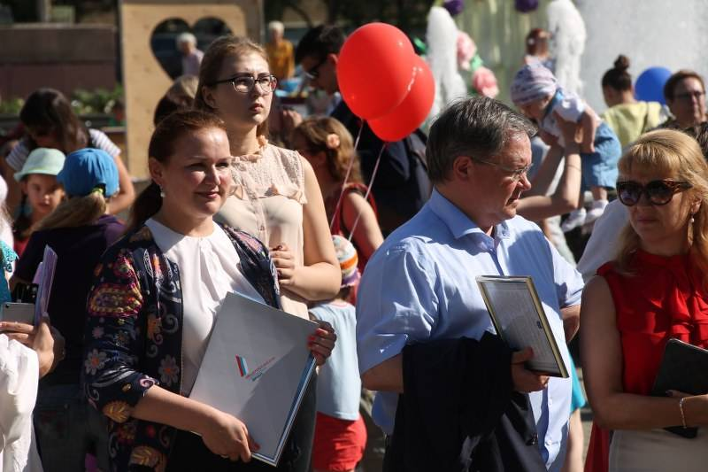 ОНФ в Коми принял участие в праздничных мероприятиях, посвященных Дню семьи, любви и верности