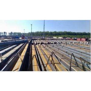 Новотранс завершил I этап поставки металлоконструкций в рамках реализации инвестпроекта Lugaport