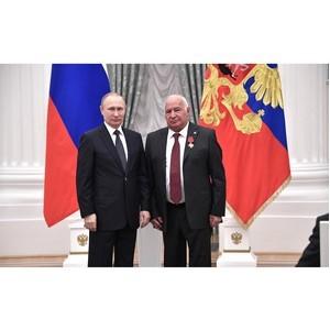 Главный онколог России получил государственную награду