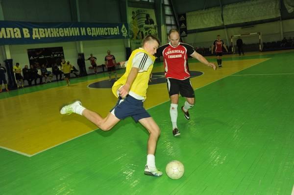 В Смоленской таможне прошло открытое первенство по мини-футболу