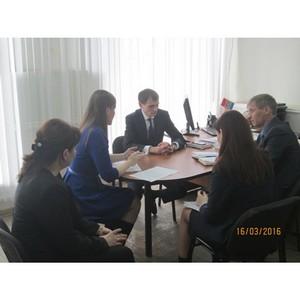 Выездной прием граждан руководством филиала в Курском муниципальном районе