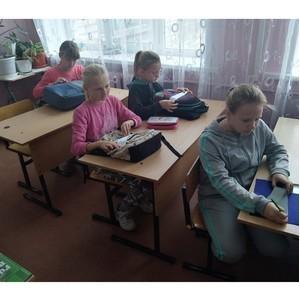 Активисты ОНФ организовали мастер-классы по изготовлению фликеров в школах