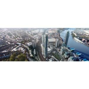 Aykon Nine Elms – первый в Лондоне жилой комплекс с интерьерами от Versace Home