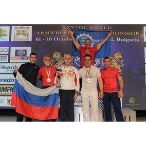 Член СоюзМаш России стал чемпионом мира по армспорту