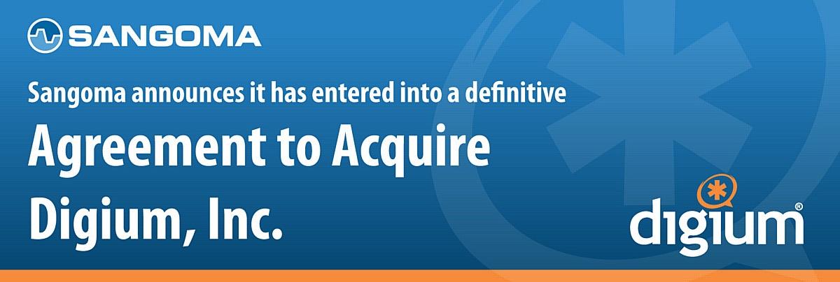 Sangoma покупает создателя Asterisk компанию Digium