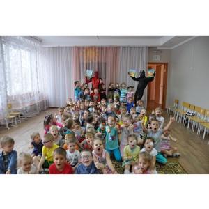 Красноярскэнергосбыт подарил уникальные книги слепым и слабовидящим детям