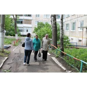 Активисты ОНФ провели встречу по вопросам благоустройства дворов с жителями Саранска