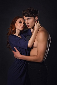 Софа Галабурад и Владимир Самойленко в рекламной кампании бренда Tali Ttes