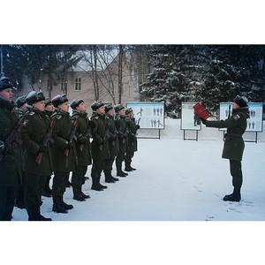 «Швабе» принял участие в присяге военнослужащих научной роты
