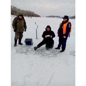 В Московской области усилено патрулирование покрытых льдом водоемов