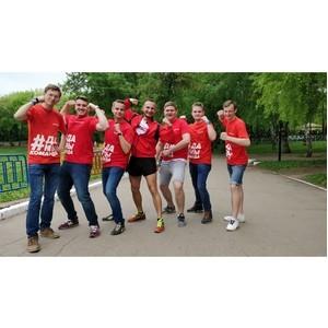 Самарская команда Молодежки ОНФ провела «Спортивные выходные»