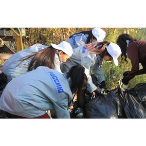 Активисты ОНФ в Туве провели экологический субботник, посвященный Дню Енисея