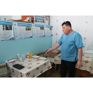 Представители Народного фронта в Мордовии проверили семь сельских фельдшерско-акушерских пунктов