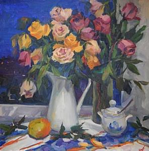Открытие выставки художницы Анны Харько