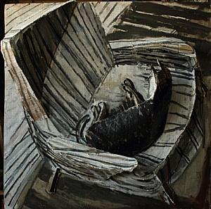 Галерея Artstory представляет выставку Марии Кулагиной «В одной лодке» c 13 апреля 2017 г