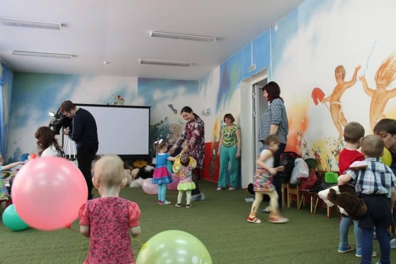 Активисты ОНФ в Мордовии провели развивающие занятия для воспитанников Дома ребенка