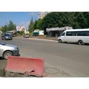 Активисты ОНФ приняли участие в рейде по проверке ремонта дорог в Костроме