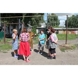 Активисты ОНФ в Мордовии проинспектировали дворы в Ичалковском и Ромодановском районах