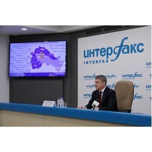 И. Маковский на пресс-конференции подвел итоги первых ста дней работы