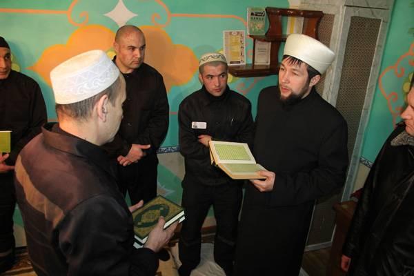 В ЛИУ-42 ГУФСИН России по Кемеровской области открыта мечеть для осужденных, исповедующих ислам