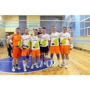 Волейболисты «Липецкцемента» третьи в городской спартакиаде