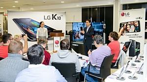 LG представила новые смартфоны К-серии в России