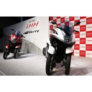Yamaha Motor выпустила футуристический трехколесный мотоцикл Tricity