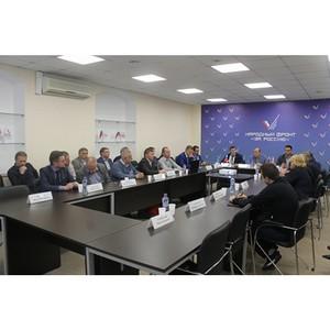 Эксперты ОНФ в Санкт-Петербурге обсудили вопросы обращения с отходами