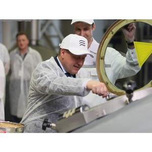 Мэр Новосибирска Анатолий Локоть высоко оценил профессионализм пивоваров «Балтика-Новосибирск»