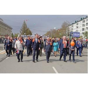 «Бессмертный цех» вышел на Парад Победы