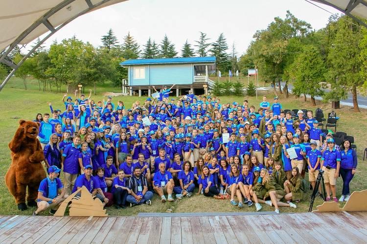 II Слет юных геологов «ГеоАртек-2018» завершился особой церемонией
