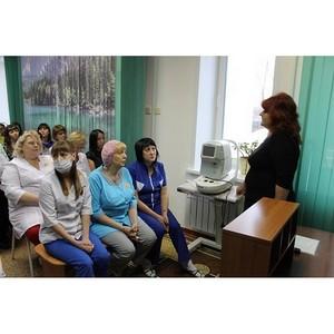 Эксперты ОНФ помогли работникам поликлиники Благовещенска разобраться в вопросах начисления зарплаты