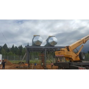 ООО «Теплоцентр» завершило монтаж топливных емкостей на одном из объектов АК «Транснефть»