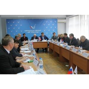 Активисты ОНФ в Самарской области подвели итоги реализации в регионе общественных предложений