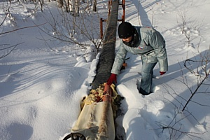 Челябинские активисты ОНФ выявили нарушения в исполнении госконтракта на теплоизоляцию труб