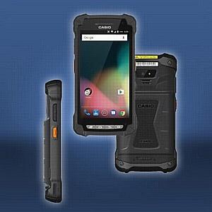 В компании Инсотел в продаже мобильный терминал промышленого применения Casio IT-G400
