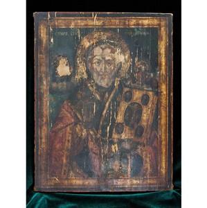 Передача иконы «Святой Николай Чудотворец, Никейское чудо» в дар художественному музею