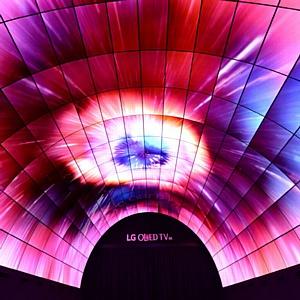 Крупнейший в мире OLED-тоннель от LG встречает посетителей IFA