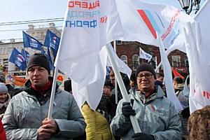 Активисты челябинского штаба ОНФ приняли участие в митинг-концерте «Крымская весна»