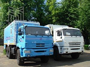 Линейные бригадные автомобили производства ООО «МПЗ» для энергосистемы Сибири